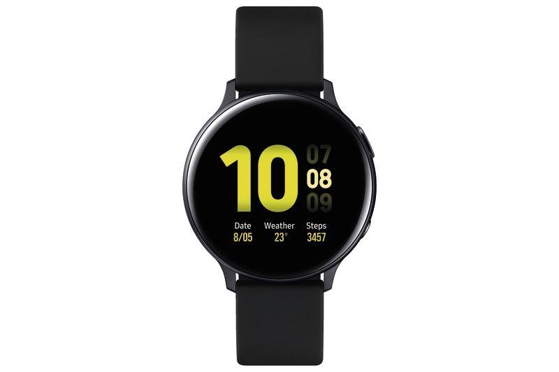 Pack Montre Connectée Galaxy Watch Active 2 Noire+ Enceinte Go2 Jbl*