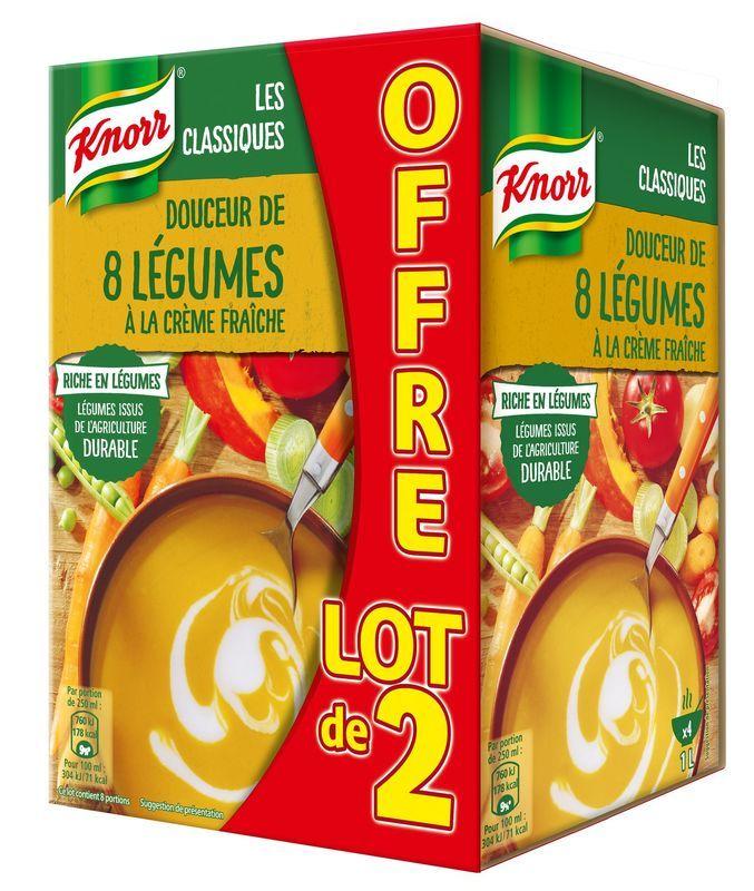 Douceur De 8 Légumes À La Crème Fraîche Knorr