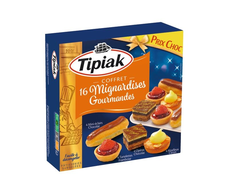 Mignardises Gourmandes Surgélées Tipiak X 18