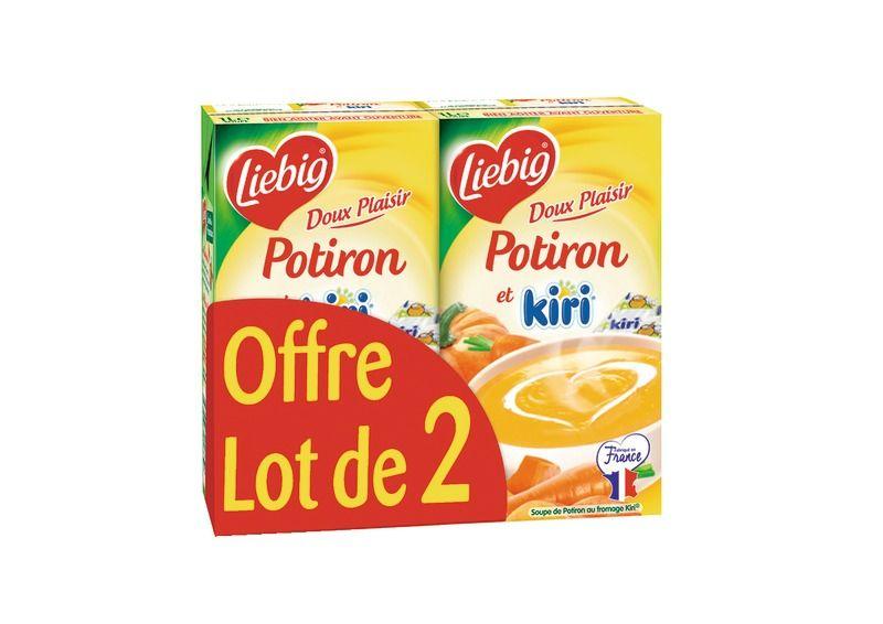 Doux Plaisir Potiron Et Kiri Liebig