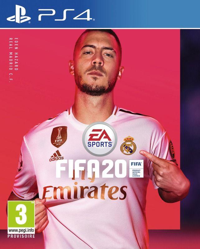 Jeu Fifa 20 Ps4 + Un Abonnement 1 Mois Bein Sport*